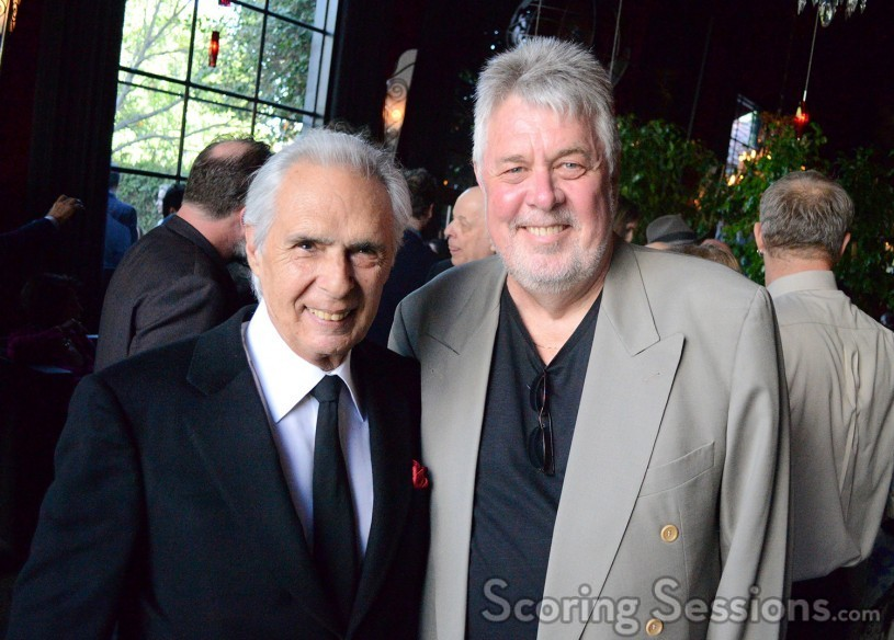 Bill Conti and SCL President Ashley Irwin