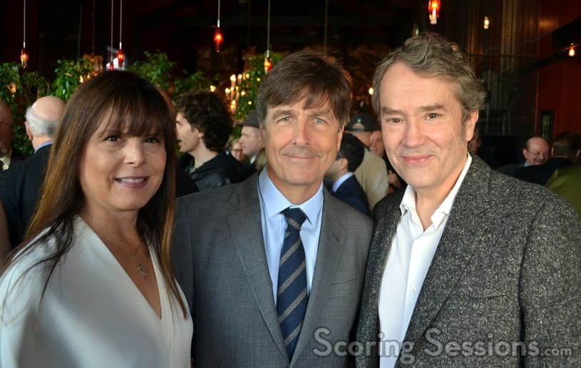 Ann Marie Zirbes, Oscar-nominee Thomas Newman, and fellow nominee Carter Burwell